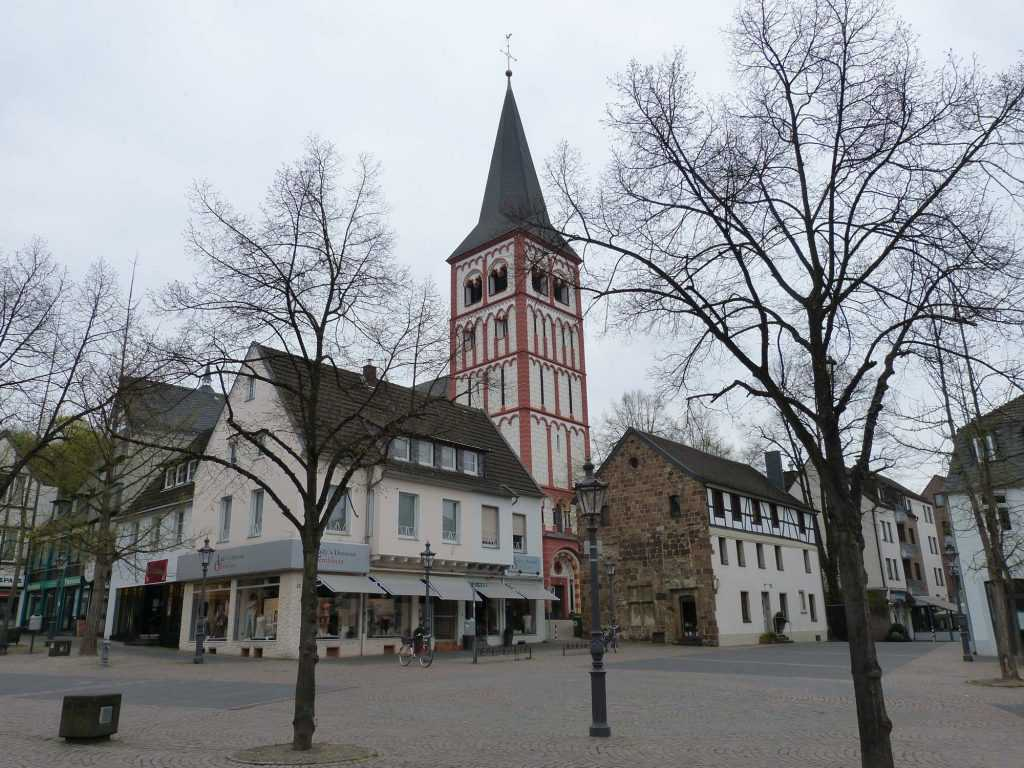 Siegburg im Rhein-Sieg-Kreis