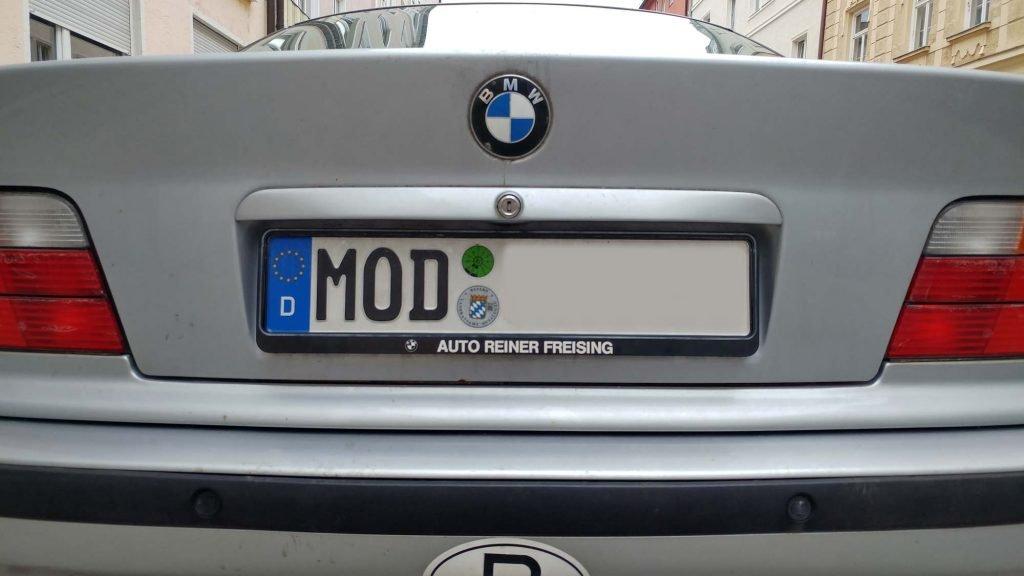 Autokennzeichen Mod