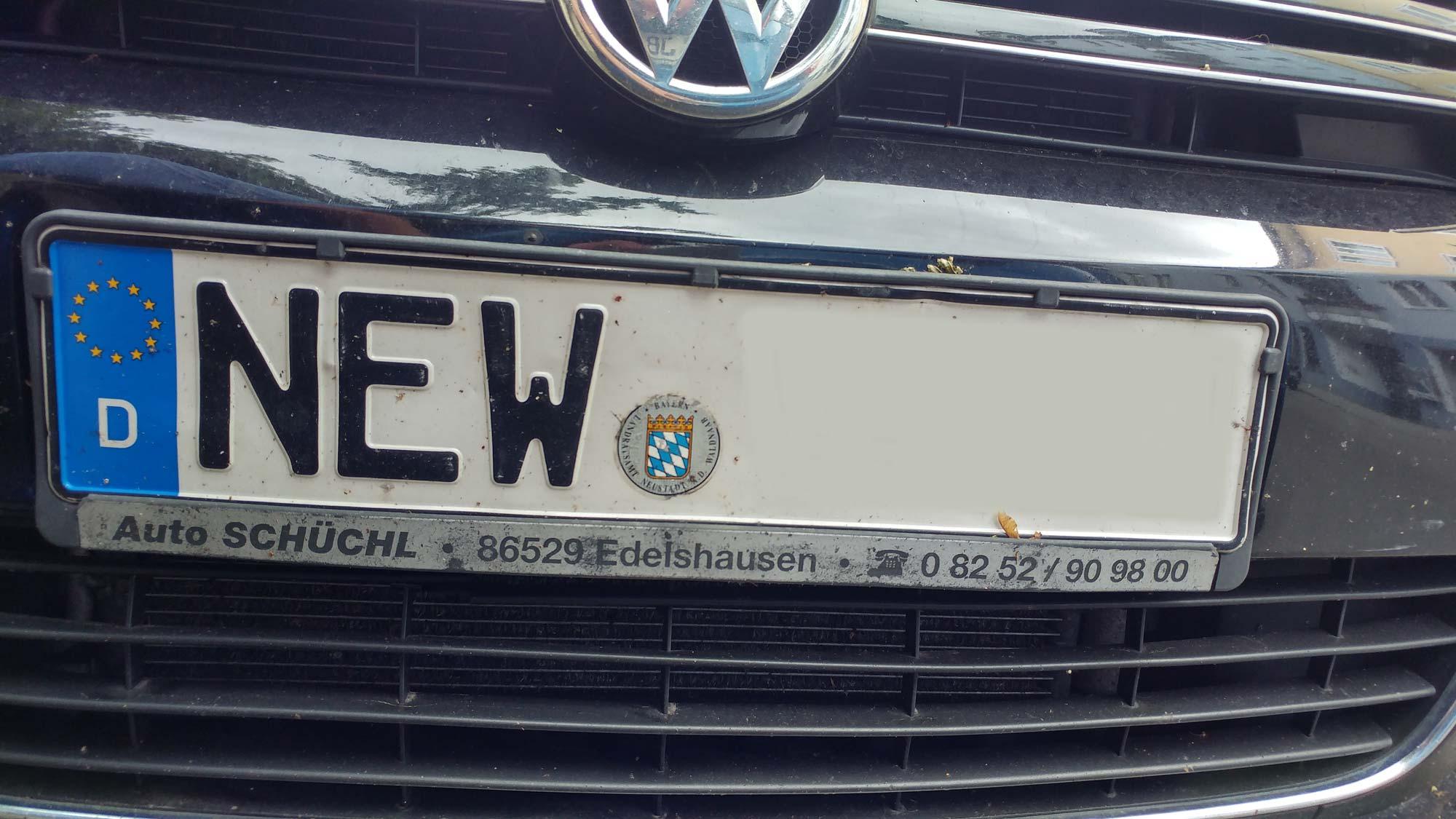 By Autokennzeichen