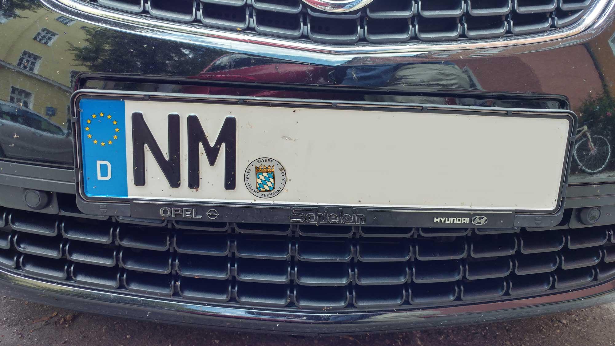 Kennzeichen Nm