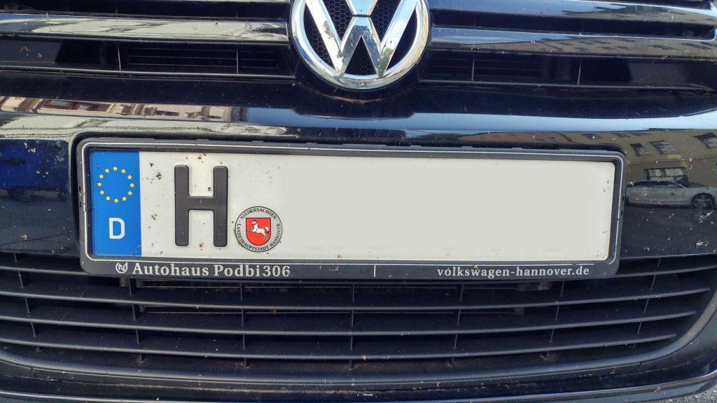 Fü Autokennzeichen