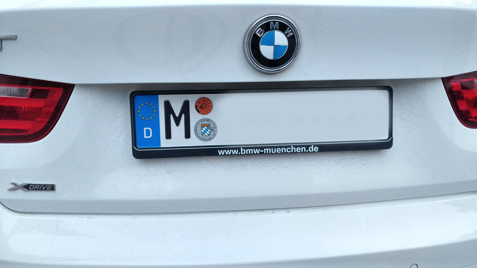 Mai Autokennzeichen