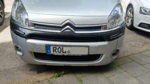 Autokennzeichen Rol